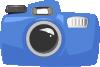 free vector Cartoon Camera clip art