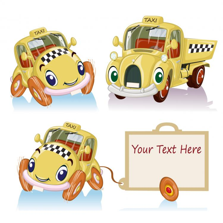 free vector Cartoon car 03 vector