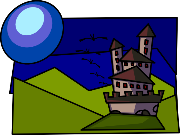 Cartoon Castle clip art Free Vector / 4Vector