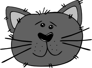 Clip Art Cat Face Clip Art cartoon cat face clip art free vector 4vector art