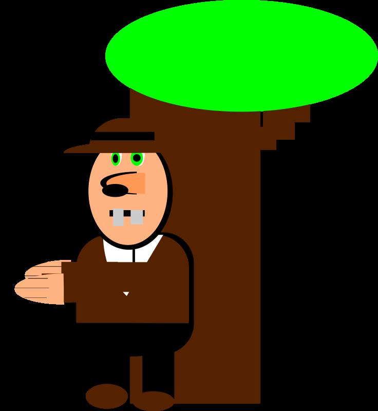 free vector Cartoon cowboy