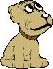 free vector Cartoon Dog clip art