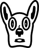 free vector Cartoon Dog Face clip art