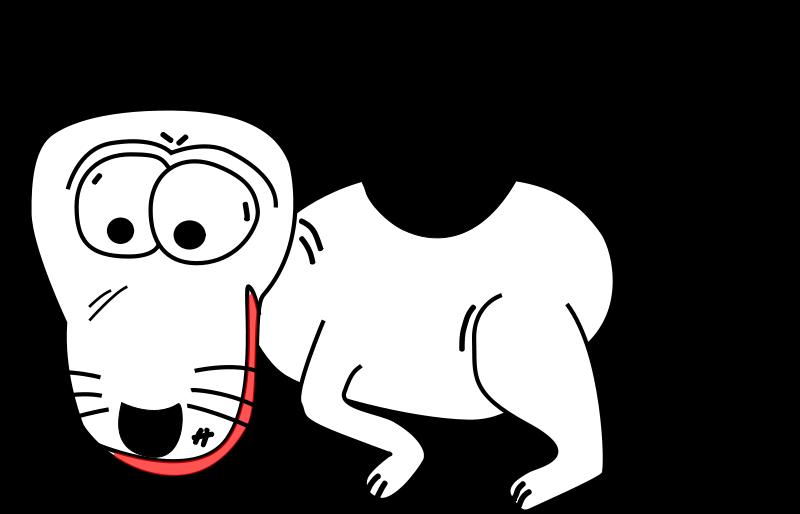 free vector Cartoon Dog