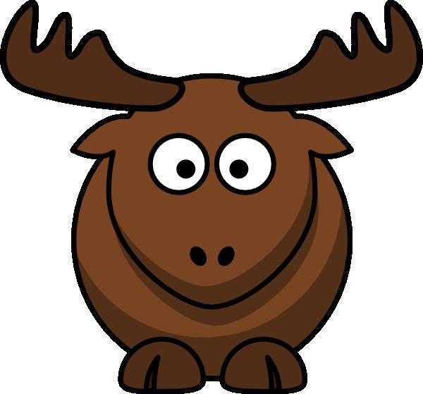 free vector Cartoon Elk clip art