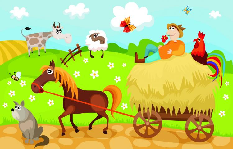 free vector Cartoon farm 05 vector