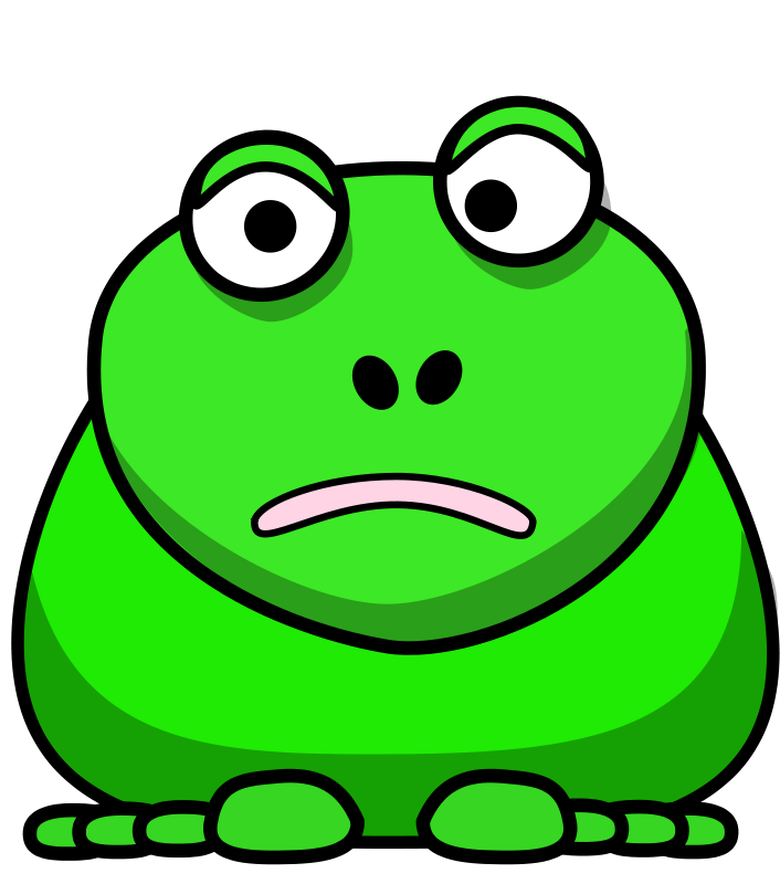 free vector Cartoon Frog