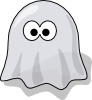 free vector Cartoon Ghost clip art