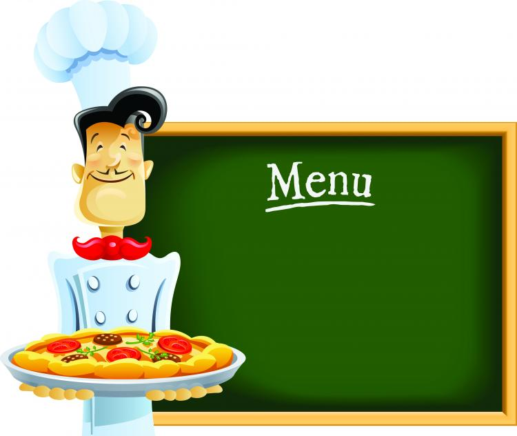free vector Cartoon image of chefs and waiters 05 vector