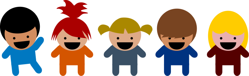 free vector Cartoon Kids