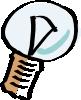 free vector Cartoon Light Bulb clip art