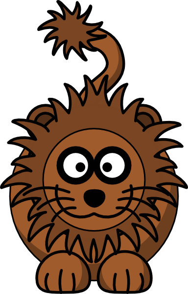 Cartoon Lion clip art Free Vector / 4Vector