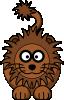 free vector Cartoon Lion clip art