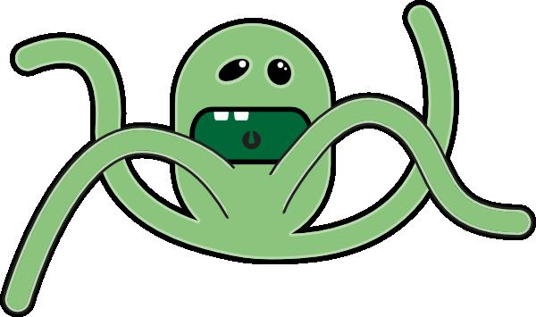 free vector Cartoon Monsters clip art