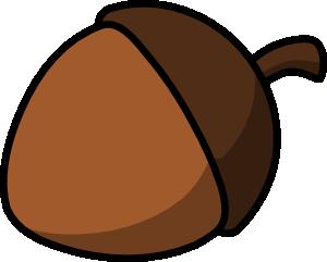 free vector Cartoon Nut clip art