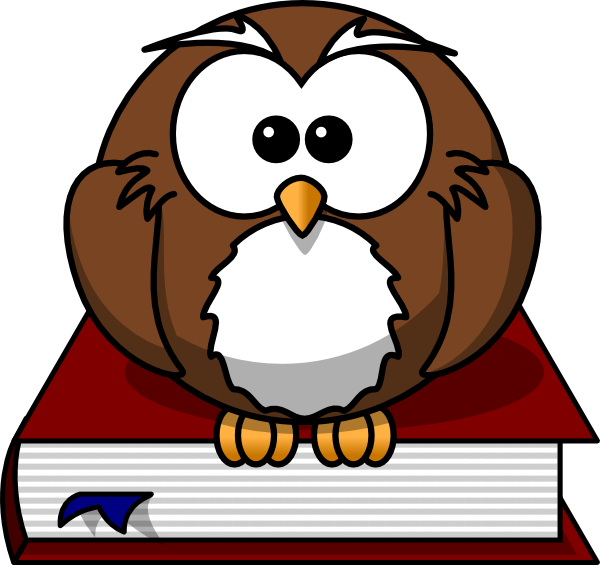 free vector Cartoon Owl clip art