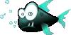 free vector Cartoon Piranha Fish clip art