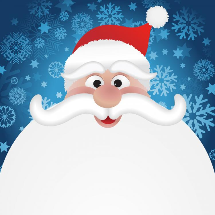 free vector Cartoon santa claus 04 vector