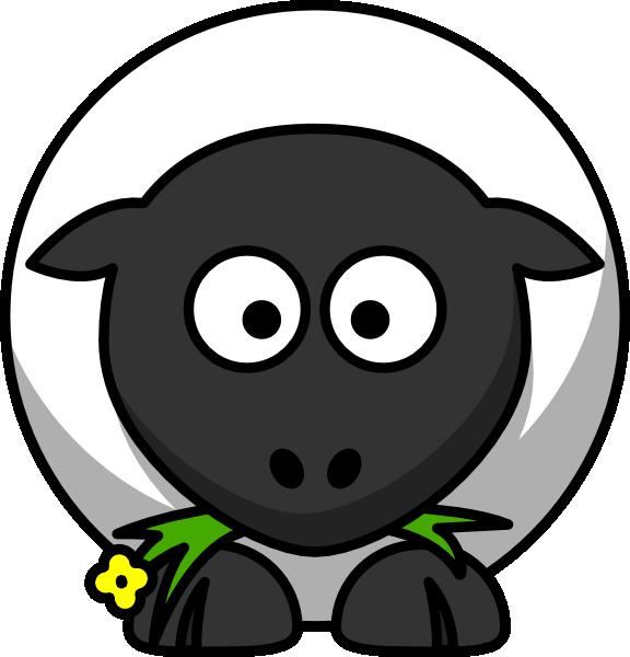 Cartoon Sheep Clip Art Free Vector 4vector