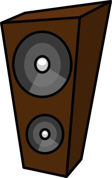 free vector Cartoon Speaker clip art