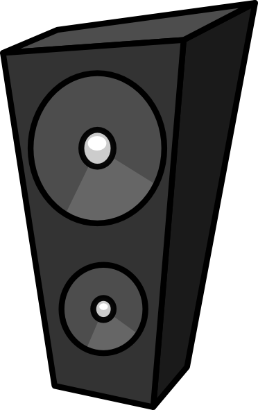 Cartoon Speaker clip art Free Vector / 4Vector