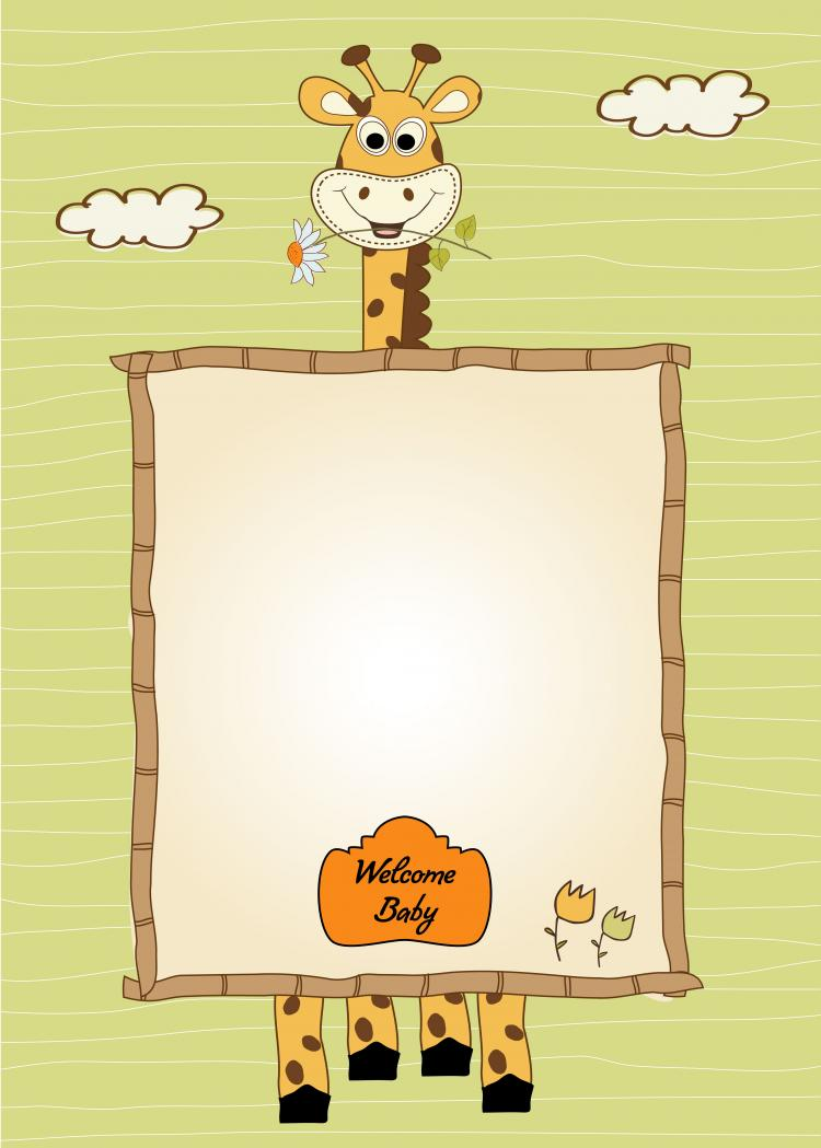 free vector Cartoon stationery 01 vector