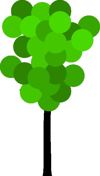 free vector Cartoon Tree clip art