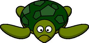 free vector Cartoon Turtle clip art