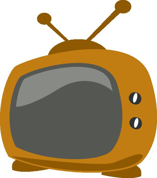 free vector Cartoon Tv clip art
