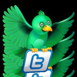 free vector Cartoon twitter icon 01 vector