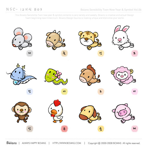 free vector Cartoon vector zodiac