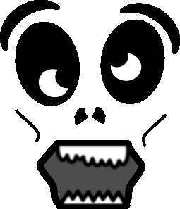 free vector Cartoon Zombie Face clip art