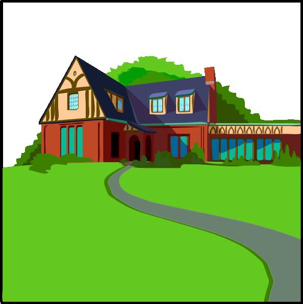free vector Casa In Campagna clip art