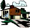 free vector Casa Plurifamigliare clip art