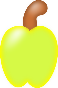 free vector Cashew Fruit clip art
