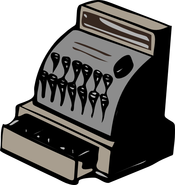 free vector Cashier Drawer clip art