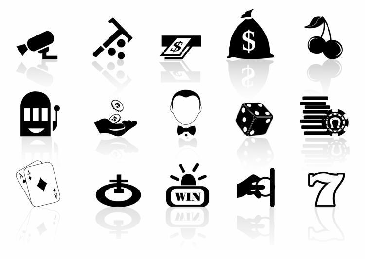 free vector Casino icons