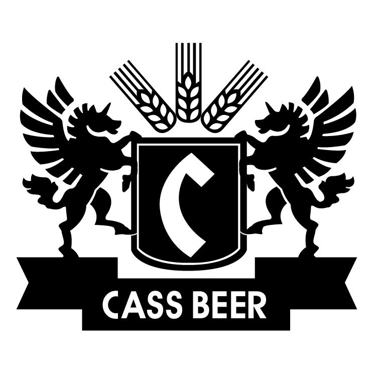 free vector Cass beer