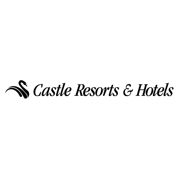 free vector Castle resorts hotels