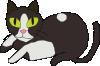free vector Cat clip art
