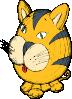 free vector Cat Figurine clip art