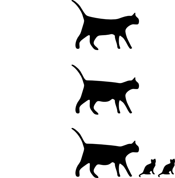 free vector Cat Icons clip art