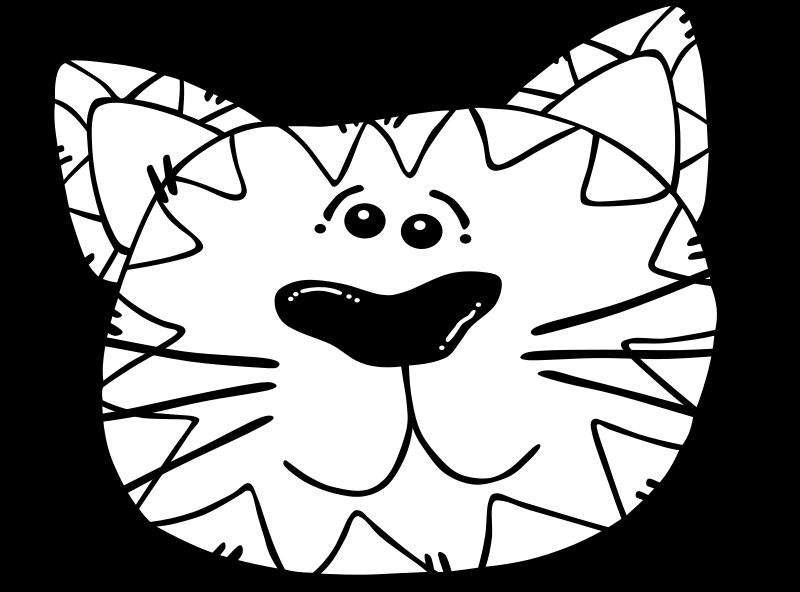 free vector Cat Line Art