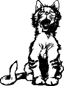 free vector Cat S Meow clip art