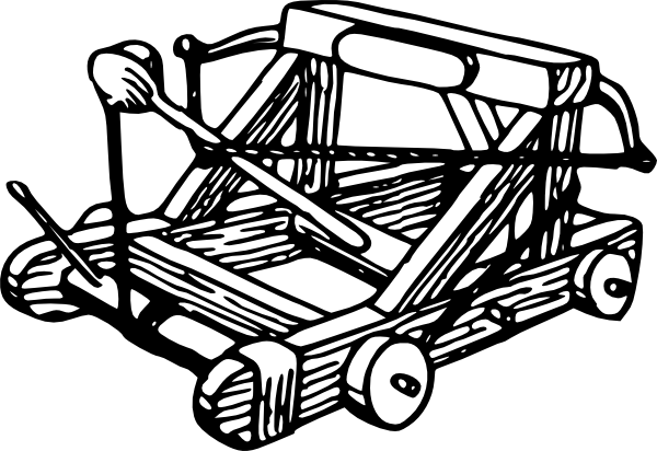 free vector Catapult clip art