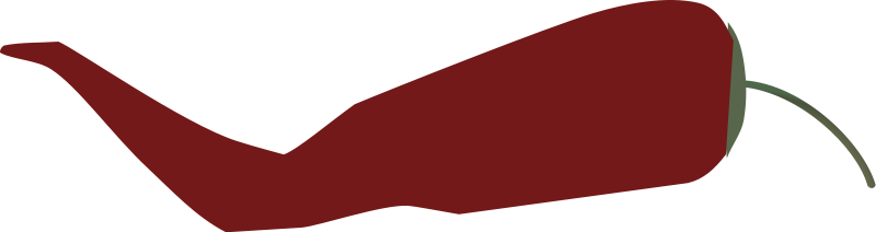 free vector Cayenne pepper simple