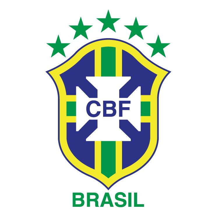 free vector Cbf confederacao brasileira de futebol