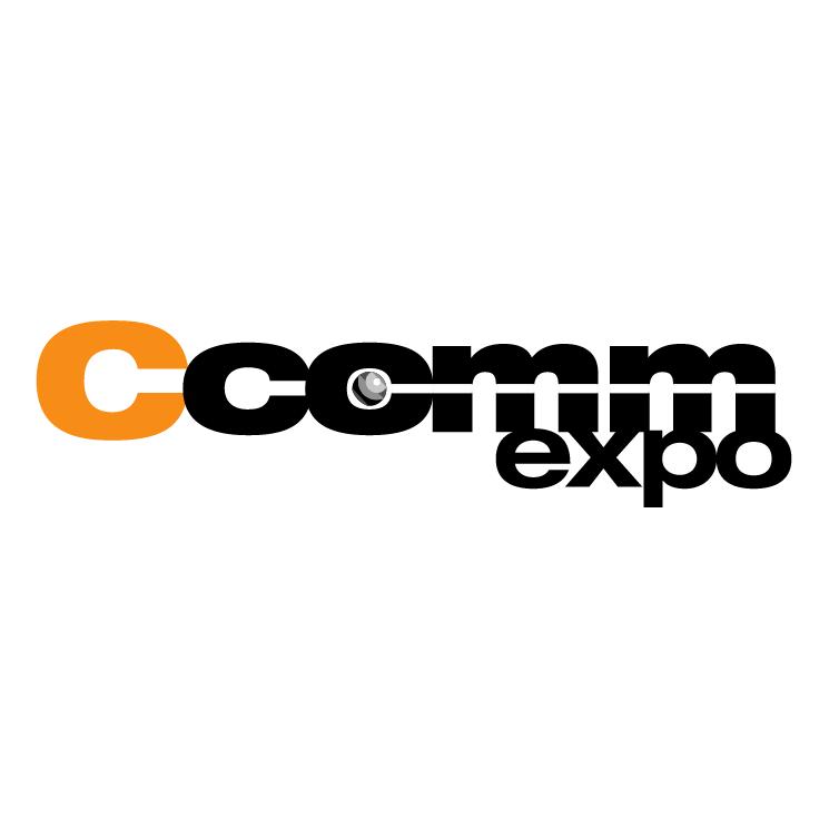 free vector Ccomm expo