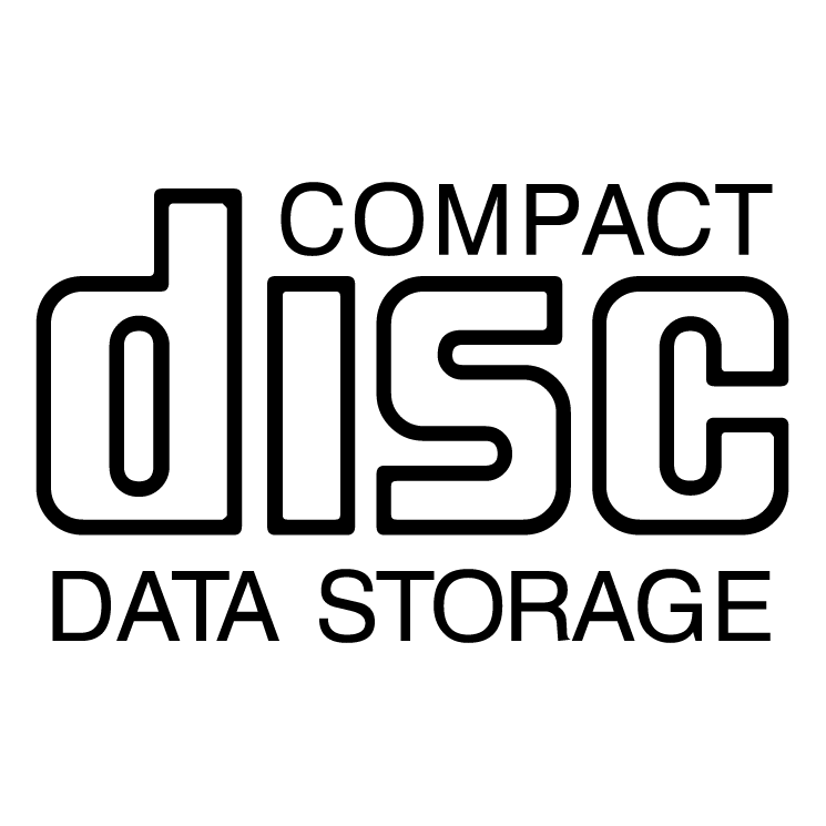 free vector Cd data storage
