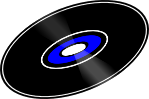 free vector Cd Record clip art